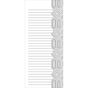 "Gems - Coloring Notepad 4""X9"" 40 Sheets"