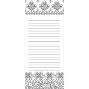 """Folk - Coloring Notepad 4""""X9"""" 40 Sheets"""