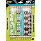 Assorted - Fashion Mechanical Pencils 12/Pkg