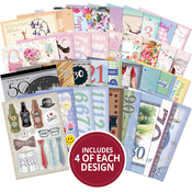 The Little Book Of Milestone Birthdays - Hunkydory A6 Paper Pad 144/Pkg