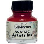 Crimson - Manuscript Acrylic Artists Ink 30ml