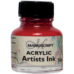 Magenta - Manuscript Acrylic Artists Ink 30ml