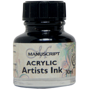Indian Black - Manuscript Acrylic Artists Ink 30ml