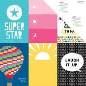 Oh My Stars 12x12 Paper, 4x6 - Bella Blvd