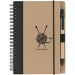 Black - Knit Happy Eco Journal W/Pen