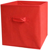Red - Square Storage Cube 10.5 X10.5 X11  1/Pkg Innovative Home Creations-Square Storage Cube. These storage cubes have a pop up frame construction and save storage space. Great for storing clothes and toys! This package contains one 11x10-1/2x10- 1/2 inch storage cube. Comes in a variety of colors. Each sold separately. Imported.