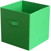 Green - Square Storage Cube 10.5 X10.5 X11  1/Pkg Innovative Home Creations-Square Storage Cube. These storage cubes have a pop up frame construction and save storage space. Great for storing clothes and toys! This package contains one 11x10-1/2x10- 1/2 inch storage cube. Comes in a variety of colors. Each sold separately. Imported.