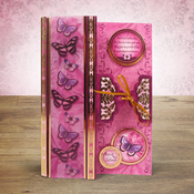 Parchment Trail - Hunkydory Flight Of The Butterflies Jewelled A4 Card Kit