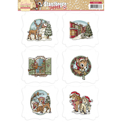 Traditional Christmas - Find It Trading Yvonne Creations 3D Topper Sheet