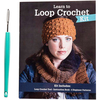 Learn To Loop Crochet Kit Leisure Arts-Learn To Loop Crochet Kit. Use a simple tool that works with most types of yarn to create a soft fabric that's perfect for fashion and home accessories. This 8-1/2x6-1/2x3/4 inch package contains one loop crochet tool, one instruction book and four beginner patterns. Imported.