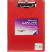 Red - Vertical Portfolio Clipboard 1/Pkg