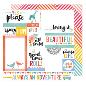 Yes Please Paper - Oh Happy Life - Amy Tangerine
