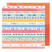 Cruising Along Paper - Oh Happy Life - Amy Tangerine
