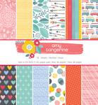 Oh Happy Life 6 x 6 Paper Pad - Amy Tangerine