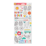 Oh Happy Life 6 x 12 Accent Stickers - Amy Tangerine
