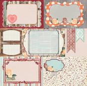 Delicate Paper - Bella Rosa - Bo Bunny