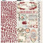 Bella Rosa Combo Sticker Sheet - Bo Bunny
