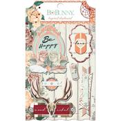 Bella Rosa Layered Chipboard - Bo Bunny