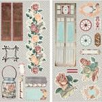 Bella Rosa Chipboard - Bo Bunny