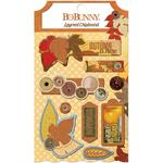 Farmers Market Layered Chipboard - Bo Bunny