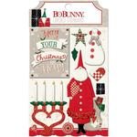 Merry & Bright Layered Chipboard - Bo Bunny