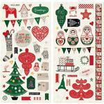 Merry & Bright Chipboard - Bo Bunny