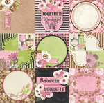 Confectionery Paper - Sweet Moments - Bo Bunny