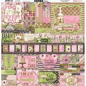 Sweet Moments Combo Sticker Sheet - Bo Bunny