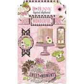 Sweet Moments Layered Chipboard - Bo Bunny