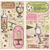 Sweet Moments Chipboard - Bo Bunny
