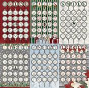 Ornaments Paper - Tis The Season - Bo Bunny