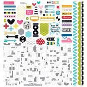 Oh My Stars Fundamentals Sticker Sheet - Bella Blvd