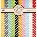 Double Dot 12 x 12 Chevron Collection Pack - Bo Bunny
