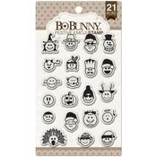 Festive Emoji Stamp - Bo Bunny