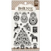 Feeling Festive Stamp - Bo Bunny
