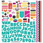 Bright & Brave Fundamentals Sticker Sheet - Illustrated Faith