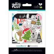 - Illustrated Faith Christmas Paper Pieces Die-Cuts