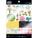 "Christmas - Illustrated Faith Clear Cuts Pad 6""X8"""