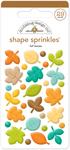 Flea Market Fall Leave Sprinkle Shapes - Doodlebug