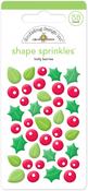Holly Berries Sprinkles - Doodlebug