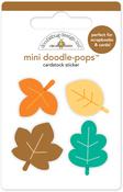 Autumn Leaves Doodle-pops - Flea Market - Doodlebug