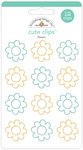 Flowers Cute Clips - Flea Market - Doodlebug