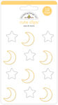 Stars & Moons Cute Clips - Doodlebug