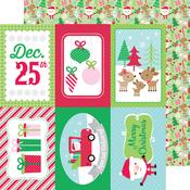 Here Comes Santa Claus Paper - Doodlebug