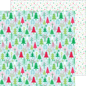 Tis The Season Paper - Here Comes Santa Claus - Doodlebug