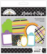 Boos & Brews Labels & Tags - Doodlebug