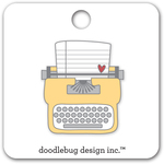 Tiny Type Collectible Pin - Doodlebug