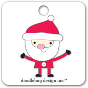 Santa Collectibles Pin - Doodlebug