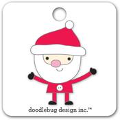 Santa Collectibles Pin - Doodlebug