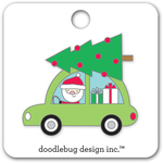 Here Comes Santa Collectibles Pin - Doodlebug